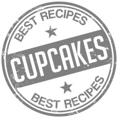 cupcake recipes stamp