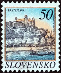 Bratislava castle (Slovakia 1993)