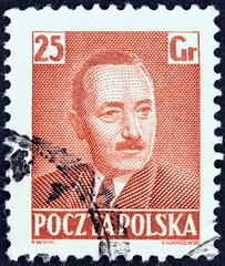 President Boleslaw Bierut (Poland 1950)