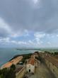 canvas print picture - Blick über die toskanische Küste