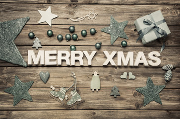 Frohes Fest in Englisch: Merry Xmas Text
