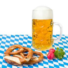 Deutsches Essen auf dem Oktoberfest