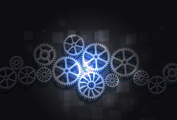 Gears Concept Business Background