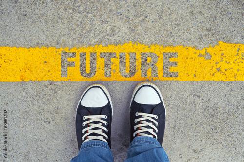 obraz lub plakat Krok w przyszłość.