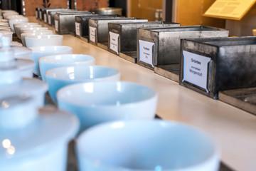 Details aus dem Teehandel