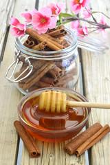 Fresh honey.