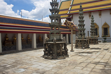 Complex of temple Wat Pho, Bangkok, Thailand