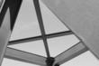 canvas print picture - Stahlkonstruktion einer Eisenbahnbrücke
