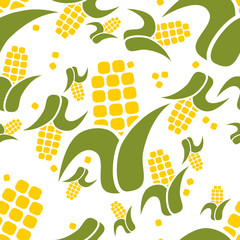 corn seamless pattern