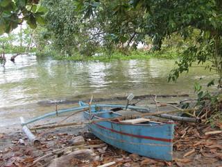 einheimisches Boot