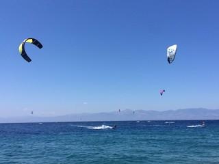surfisti and kitesurfisti