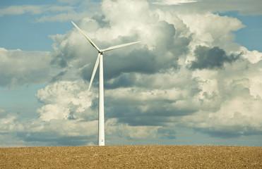 Energiegeladene Wolken