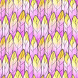 Seamless Background Feather Pattern