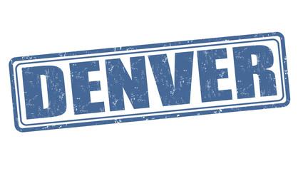 Denver stamp