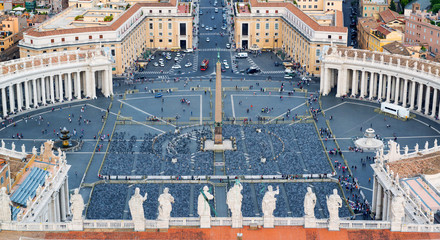 Piazza San Pietro in Vatican City, Italy