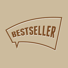 Bestseller speech bubble