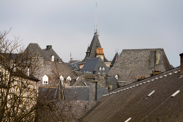 Old roofs of Luxembourg