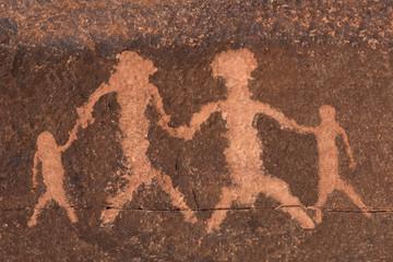 Ancient Petroglyph People