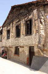 An old rundown building in Calis, Turkey