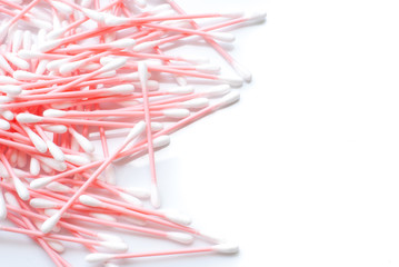 Hygienic swabs are soft cleaning tools