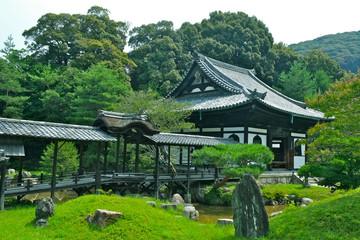 高台寺 開山堂と観月台