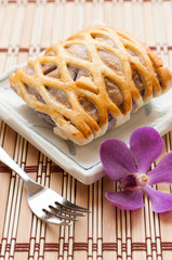 Taro Pie for relaxing time