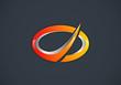 modern corporate business  vector logo