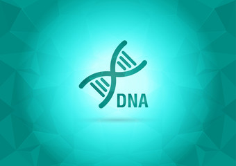 Abstract Wallpaper with DNA. Element of the world.