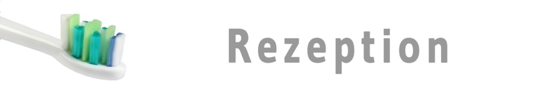 zaps39 - ZahnArztPraxisSchild 39 - Rezeption - 6zu1 - g1139