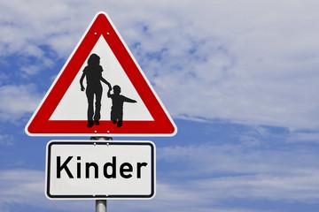 Schild Kinder © Matthias Buehner