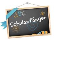 Schultafel Schulanfänger © Matthias Buehner