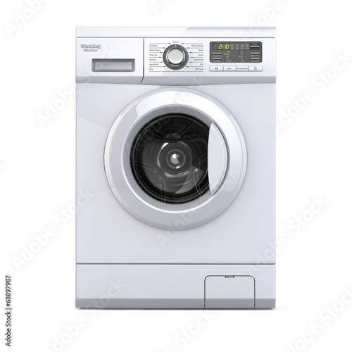 canvas print picture Washing machine.