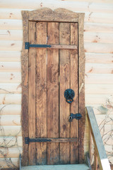 Historic and antique brass door knocker
