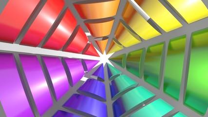 Multicolor cones