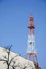 old metal tower in Berlin, Germany