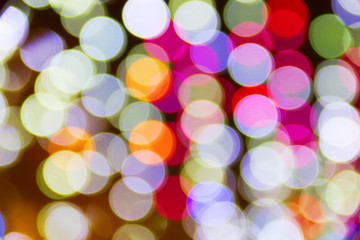 Defocused ligths
