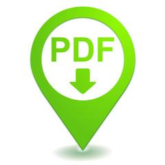 télécharger le pdf sur symbole localisation vert