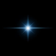 Star burst  light beam vector