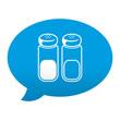 Etiqueta app comentario simbolo sal y pimienta