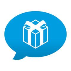 Etiqueta app comentario simbolo tienda de regalos