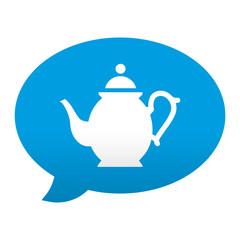 Etiqueta app comentario simbolo tetera