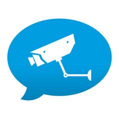 Etiqueta app comentario simbolo camara de seguridad