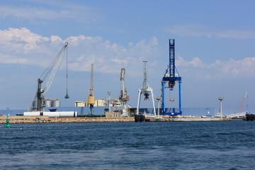 Activité au port