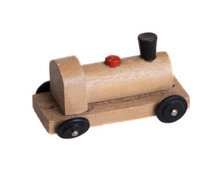 Old miniature wooden toy