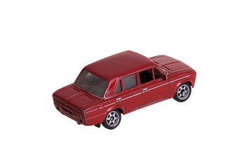 Old miniature toy car
