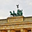 canvas print picture - Brandenburger Tor
