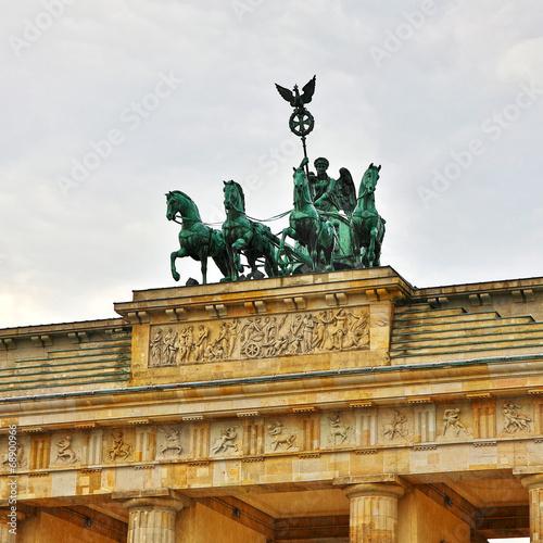 canvas print picture Brandenburger Tor