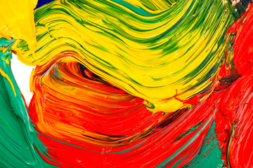 Abstract oil painted background