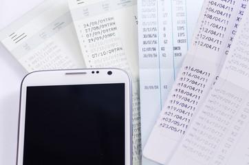 Smart phone on passbook