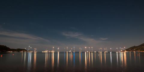 baia di notte